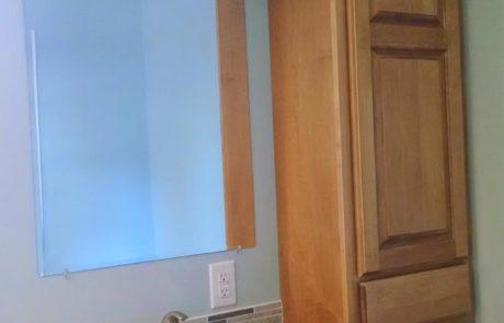 bathroom counter remodel