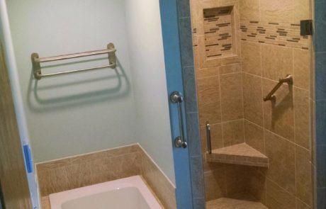 Lincoln bath renovation
