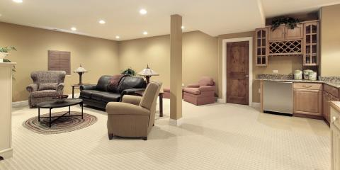 Keeping your basement remodel bright.