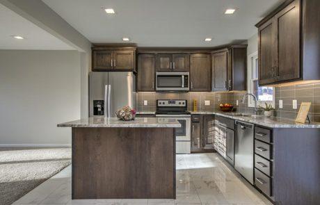 Kitchen custom renovated