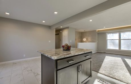 Kitchen space remodeled