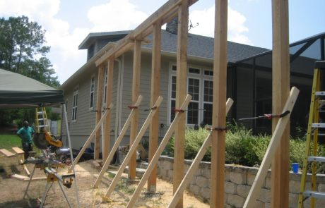 House exterior contracting
