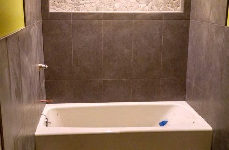 Modernizing bathroom