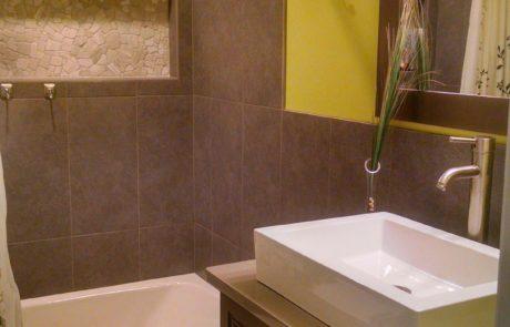 Upgrading bathroom