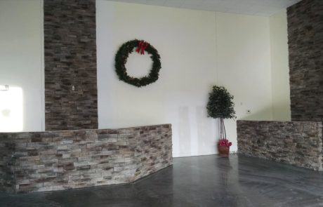 Welcome center renovation